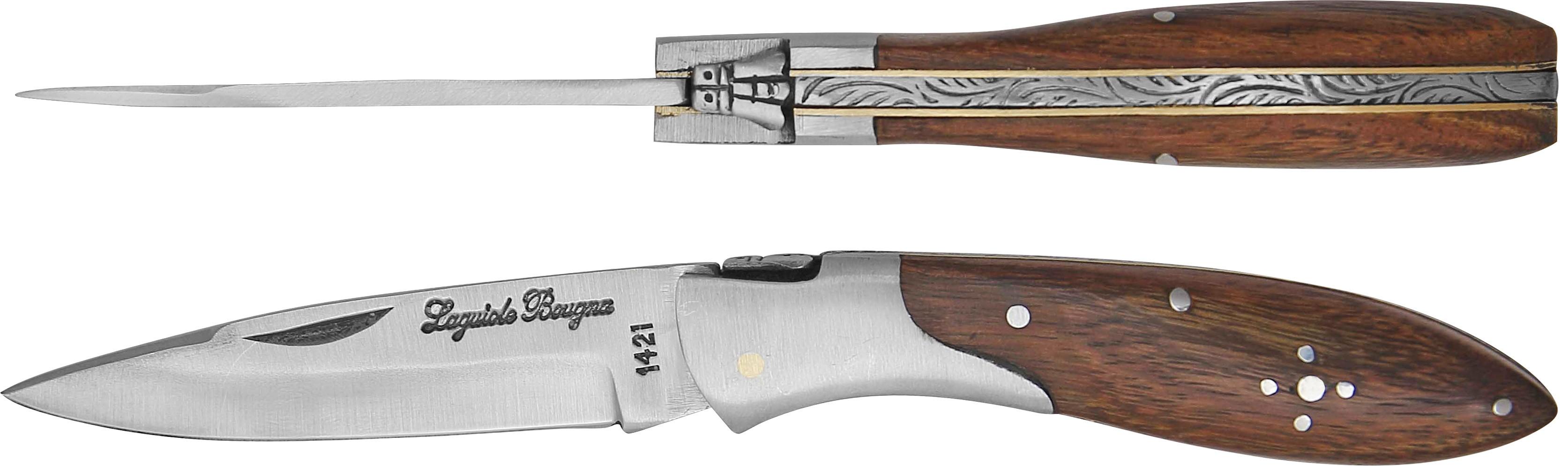 LB - Couteau 10,5 cm drop - palissandre