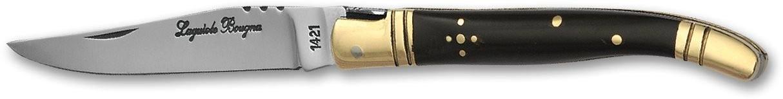 LB - Couteau 10 cm - corne noir